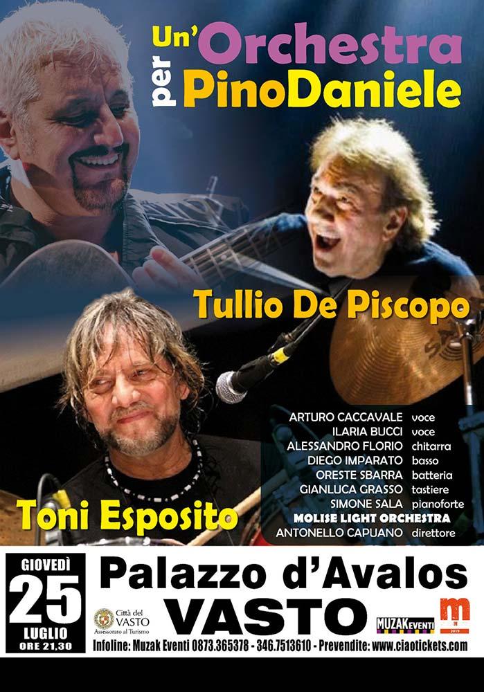 Un'orchestra per Pino Daniele